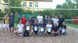 Beachvolleyball Turnier 2013