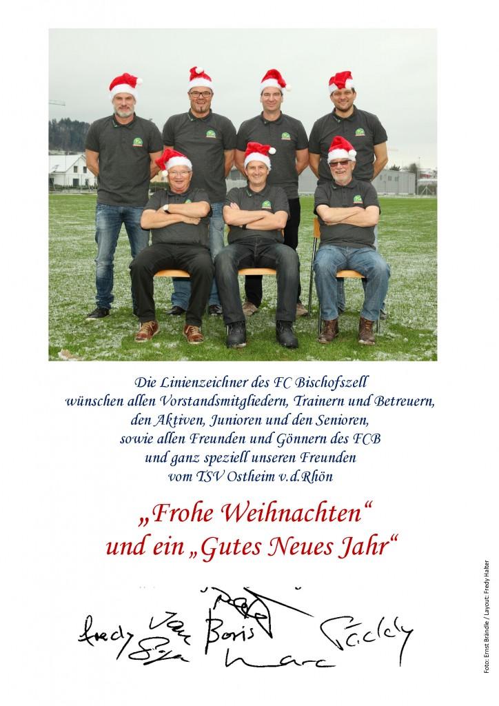 Weihnachtsgruß aus Bischofszell
