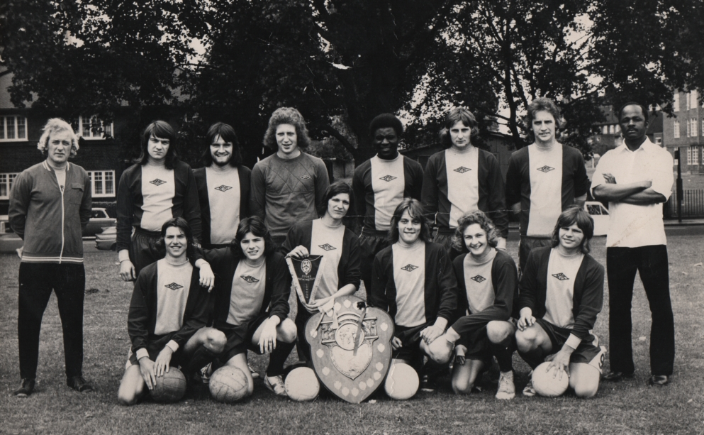 Chelsea London beim 6. Internat. Jugendfußball-Turnier in Ostheim 1974