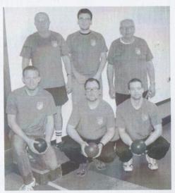 Hinten von links: Rolf Stanek, Fabian Landgraf, Bernd Ortloff; vorne von links: Christian Just, Michael Hofmann, Andreas Genßler. Es fehlen Hans-Walter Wagner, Monja Hess-Mähler und Carsten Hess.